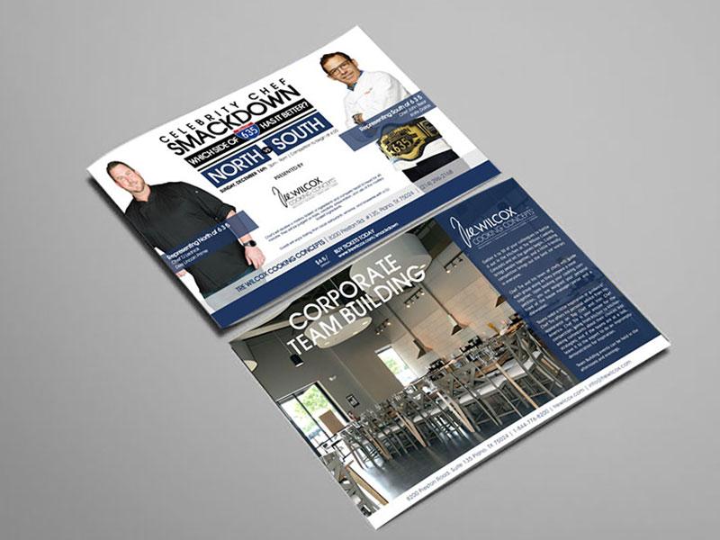 PRINT   One on One Creative   Dallas, TX: Advertising, Web Design, e-Business, e-Strategy, Interactive Marketing, Collateral, Brand Identity
